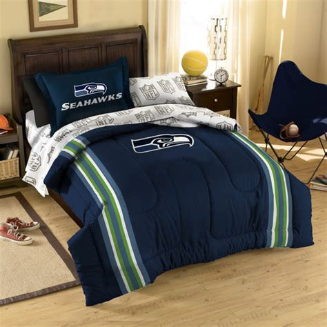 seahawks bed set nfl seattle seahawks bed in bag set modern beds by