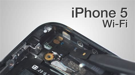 Antena Iphone 5 wifi antenna repair iphone 5 how to tutorial