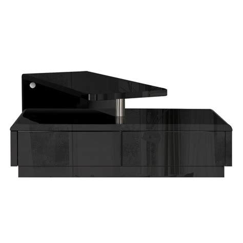 l shaped black high gloss l shape tv entertainment unit high gloss black buy modern tv units