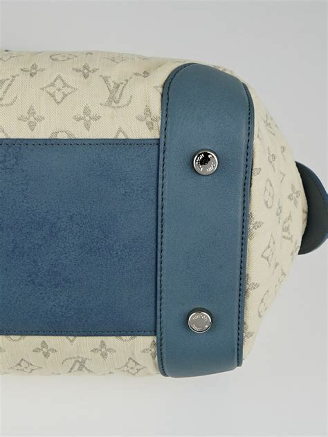 louis vuitton limited edition blue monogram denim speedy