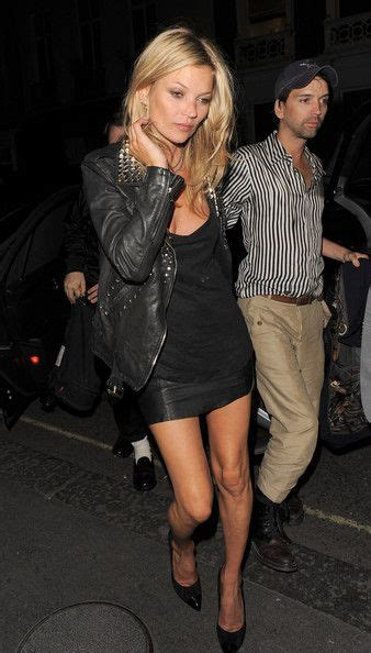a out black leather jacket and skirt black tank