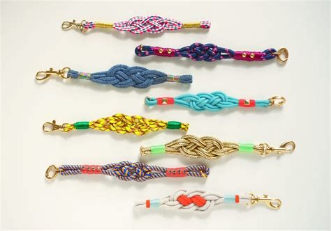 how to make rope jewelry make diy nautical knot bracelets etsy journal