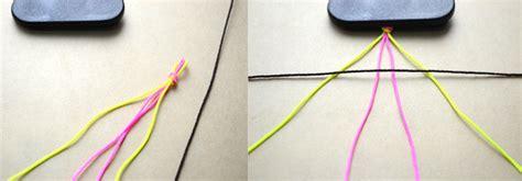diy  string braided friendship bracelet icreativeideascom