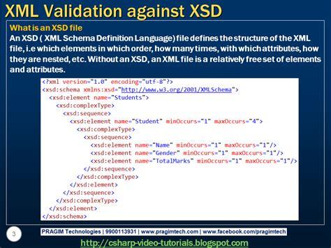 xml xsd tutorial c sql server net and c video tutorial part 8 xml