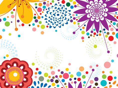 background design with border blue flower border design clipart best