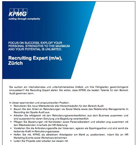 Lettre De Motivation Type Kpmg Lettre De Motivation Kpmg Lettre De Motivation 2017