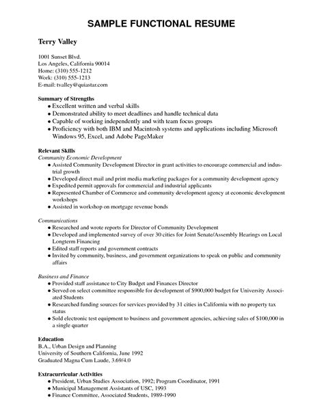 different resume formats pdf resume exles templates great 10 resume template pdf