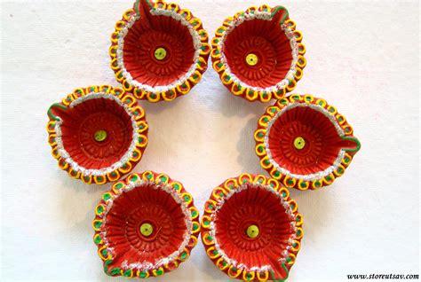 Handmade Diwali Diya - rangoli diyas terracotta small handmade shopping