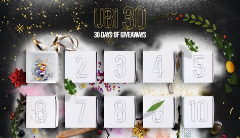 List Of Giveaways - full list of ubi 30 days of giveaways revealed rocket chainsaw