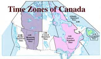 ywuwox map of time zones in canada