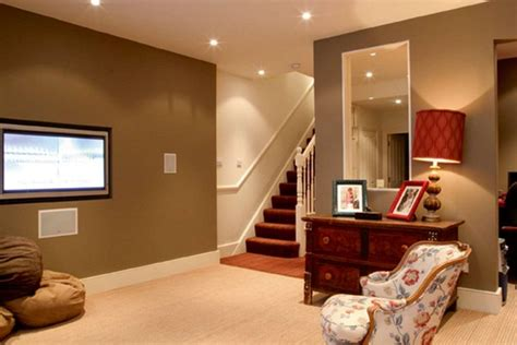 what color to paint basement one decor