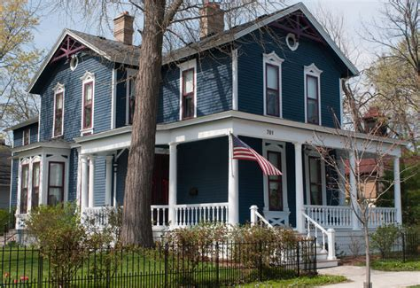 slate blue house blue house victorian historic houses pinterest white trim blue grey and slate