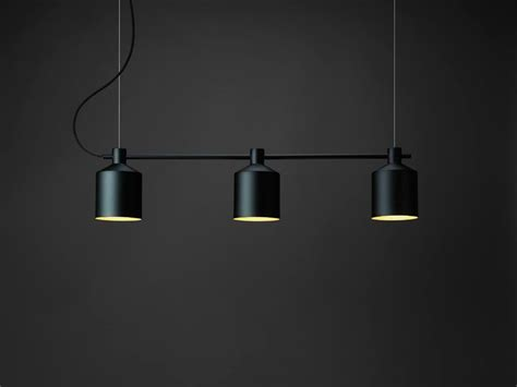 zero illuminazione note design studio silo trio pendant lights silo floor