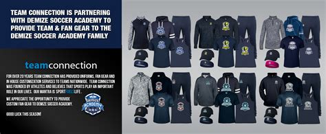 soccer fan gear demize academy team and fan gear web store springfield