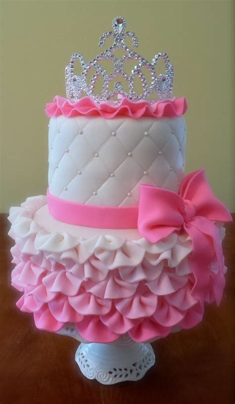 cute princess baby girls  cakes  pinterest