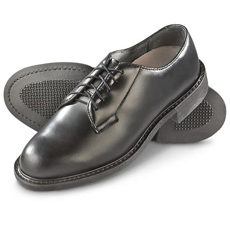 army oxford shoes new u s surplus wellco leather oxfords 634452