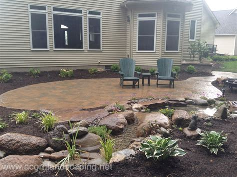 backyard stone patio ideas backyard patio designs pavers stone designer in