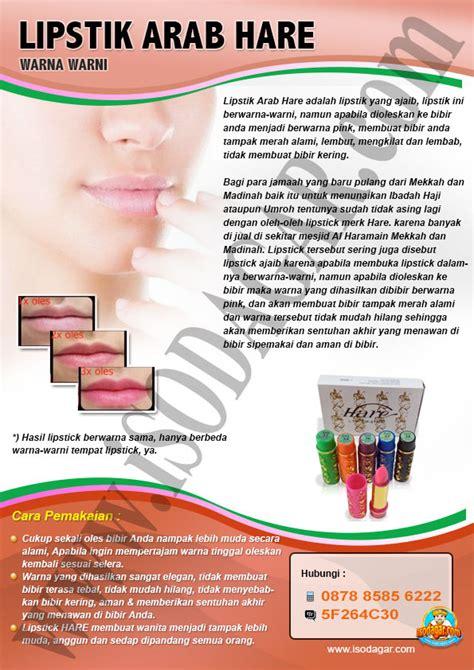 lipstik arab hare warna warni isodagar