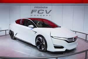 Honda Fcv Honda Fcv Concept Heading To Japan Market 95 Octane