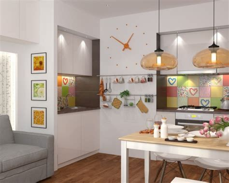 kitchen designs for 5 sqm 4 تصاميم منازل صغيرة 50 متر للمساحات الصغيرة عرب ديكور