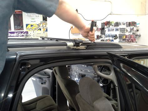 Low Profile Roof Rack Cross Bars by Chevrolet Tahoe Extended Roof Rack Az Cargo Solutions