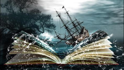 libro winter magic book wallpaper hd
