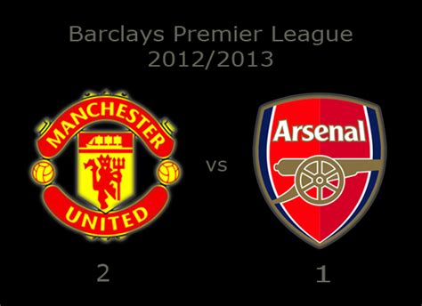 arsenal result today manchester united results gt gt manchester united 2 vs 1