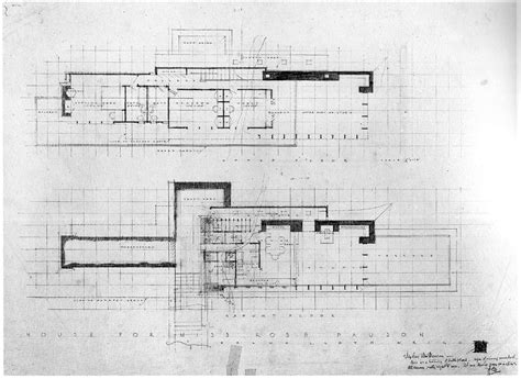 rosenbaum house floor plan frank lloyd wright rosenbaum house floor plan