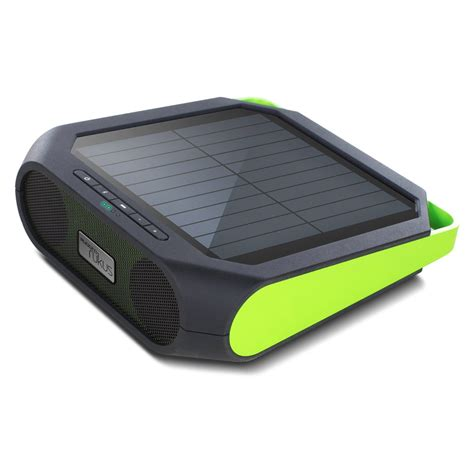 bluetooth speaker rugged eton rugged rukus solar powered bluetooth speaker so that s cool