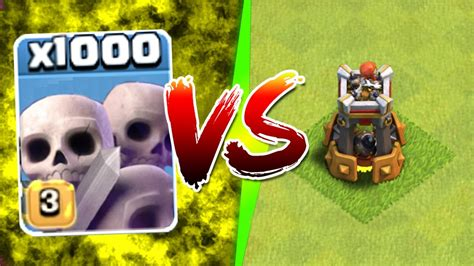 how to upgrade players in clash of clans clash of clans 1000 skeletons vs bomb tower new