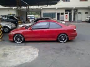 el rojo honda civic coupe 94 d16z6 auto