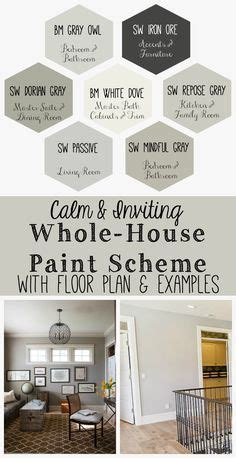 how to coordinate paint colors benjamin moore revere pewter and coordinating paint