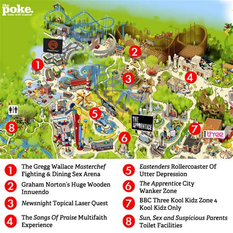 theme park uk map exclusive inside the new bbc theme park the poke
