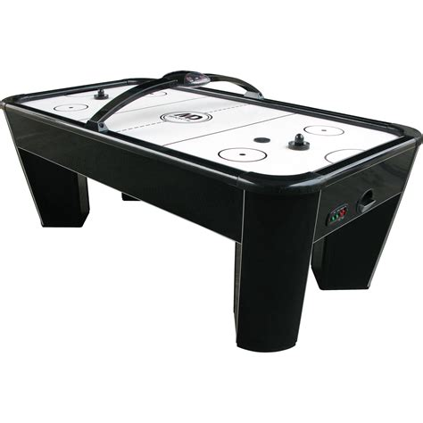 md air hockey table md sports 19000 7 5 black bull hockey table sears outlet
