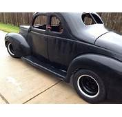 1940 Ford Deluxe Coupe Hot Rod/Rat Rod Project For Sale