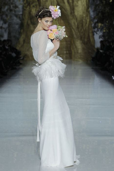 stacey keibler and eastwood witness pronovias 2014 from the front row photo 5