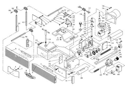 Powermatic Ts29 Parts List And Diagram 1791284