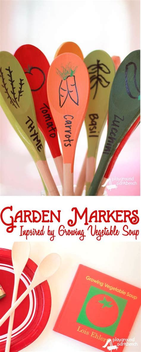 pin by lois hoch on diy pinterest diy garden markers inspired by lois ehlert quot gardening
