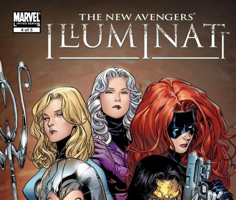 new illuminati new illuminati 2006 4 comics marvel