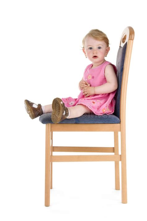 Sit On It by Child Sit On Chair Stock Photo Image Of Beautiful