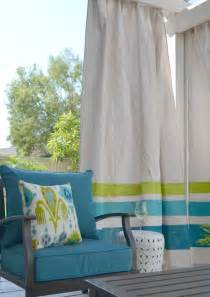 Drop Cloth Outdoor Curtains Diy These Easy Drop Cloth Outdoor Curtains For 50 Apartment Therapy Reader Project