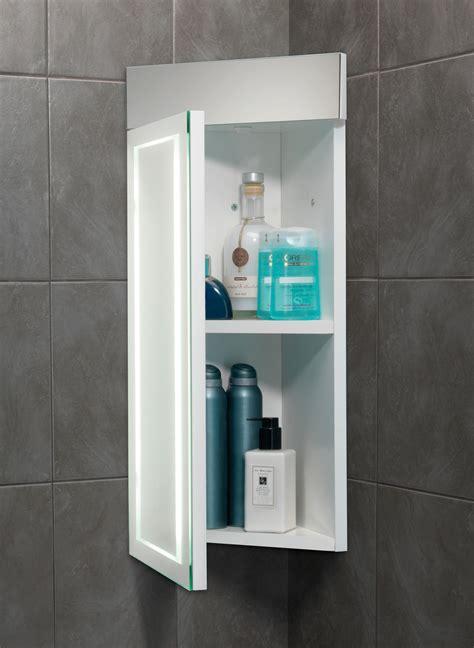 hib minnesota led  lit illuminated corner cabinet