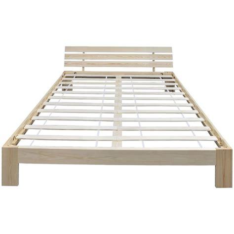 letto naturale letto naturale in solido legno di pino 200 x 160 cm