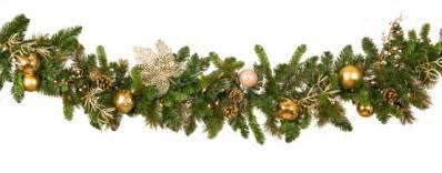 christmas garlands happy holidays