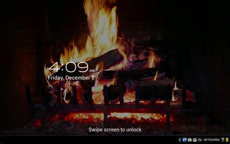 yule log fire live wallpaper android apps on google play virtual fireplace lwp android apps on google play