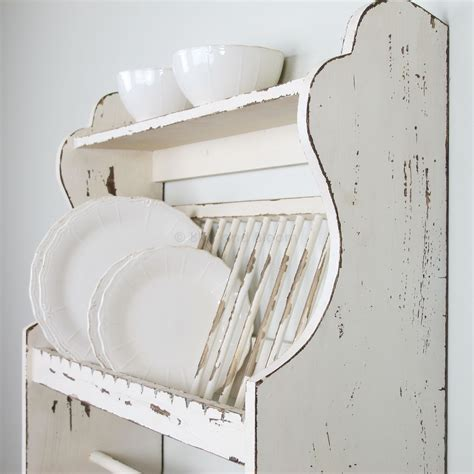 Plate Shelf by Wooden Plate Rack Shelf Bliss And Bloom Ltd