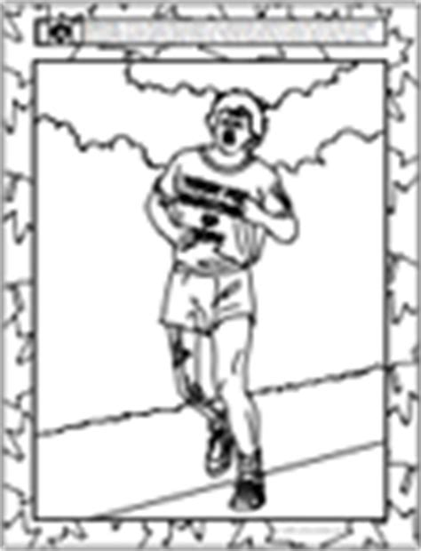 coloring pages terry fox free colouring picture pages famous canadians and