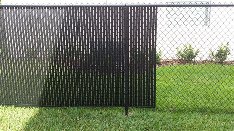 privacy fence slats privacy fence slats great solution for your chain link fence tw home show