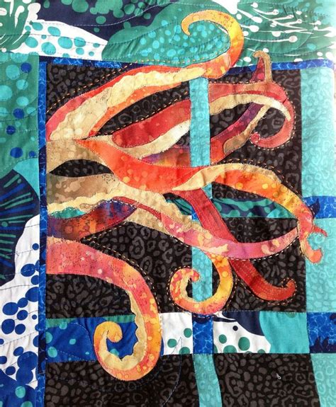 Octopus Quilt Pattern by Octopus S Garden Quilt Betukbandi Things I D To