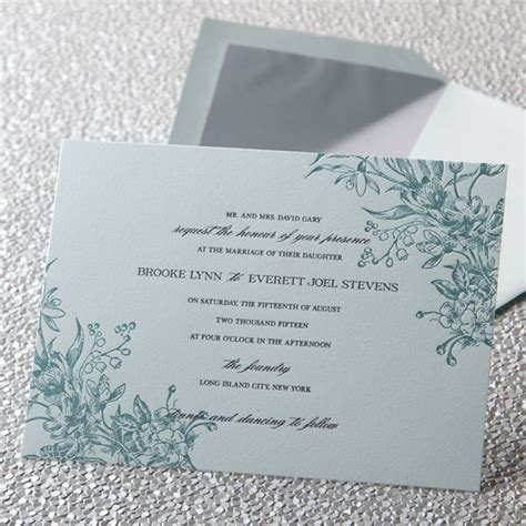 crane wedding invitations etiquette shermilla s myah derochie 39s wedding news wedding